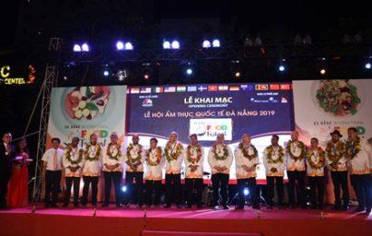 Khai tiệc Ẩm thực quốc tế Đà Nẵng 2019