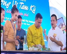 Lễ hội ẩm thực Festival du lịch biển Tam Kỳ