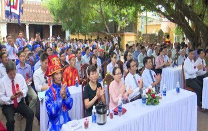 Lễ hội văn hóa đình Chiên Đàn 2019