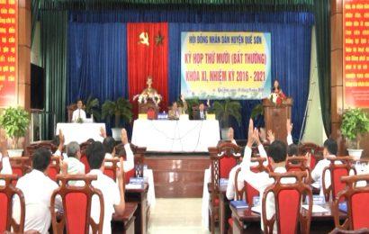 HĐND huyện Quế Sơn thông qua Đề án thành lập xã Quế Mỹ