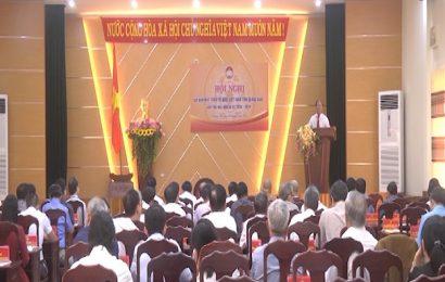 Ủy ban MTTQVN tỉnh hội nghị báo cáo kết quả Đại hội Mặt trận toàn quốc