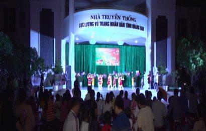 Hội phụ nữ Cơ quan Bộ CHQS tỉnh tổ chức trung thu cho các cháu thiếu nhi