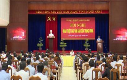 Hội nghị quán triệt các văn bản của Trung ương