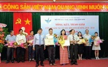 Nhà thơ Huỳnh Minh Tâm đoạt giải A cuộc thi sáng tác văn học tỉnh Bình Định