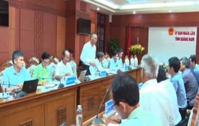Đoàn công tác Bộ Nông nghiệp và PTNT làm việc tại Quảng Nam
