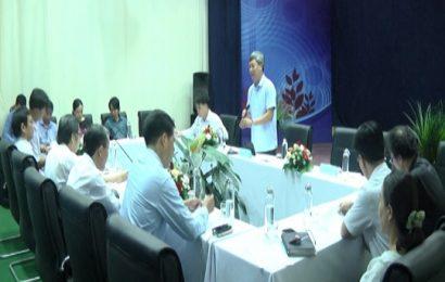 Phó Chủ tịch UBND tỉnh Hồ Quảng Bửu làm việc với Đài PTTH Quảng Nam