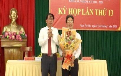 Ông Trần Duy Dũng được bầu giữ chức Chủ tịch UBND huyện Nam Trà My