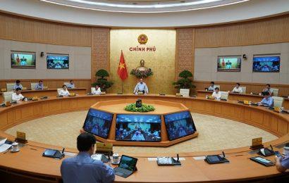 Thủ tướng Chính phủ họp với các tỉnh thành có ca mắc Covid19