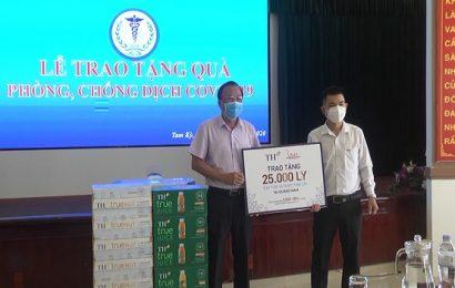 Tập đoàn TH tặng 25.000 sản phẩm sữa tươi sạch và nước trái cây