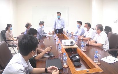 Chủ tịch UBND tỉnh Lê Thí Thanh thị sát khu điều trị bệnh nhân covid 19 tại Phòng khám đa khoa KCN  Điện Nam-Điện Ngọc và làm việc với trường Đại học Phan Châu Trinh