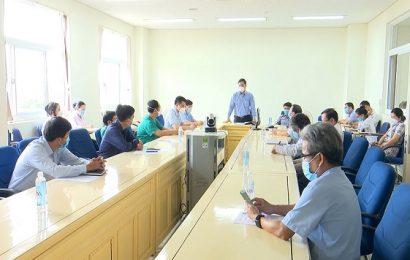 Ban Chỉ đạo phòng, chống dịch bệnh Covid-19 cấp tỉnh họp trực tuyến với các địa phương