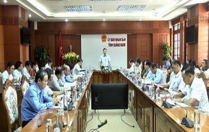 Họp bàn công tác tổng điều tra kinh tế trên địa bàn tỉnh năm 2021