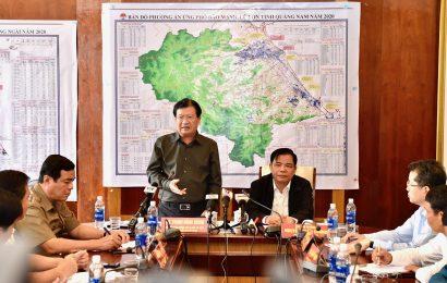 Phó Thủ tướng Trịnh Đình Dũng: Bảo đảm an toàn cho người dân và tài sản khi bão đổ bộ
