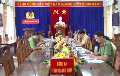 Công an Quảng Nam sẵn sàng lực lượng chống bão số 9