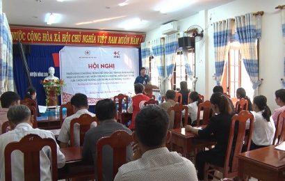 Triển khai chương trình viện trợ quốc tế cho người dân bị ảnh hưởng mưa lũ tại Nông Sơn