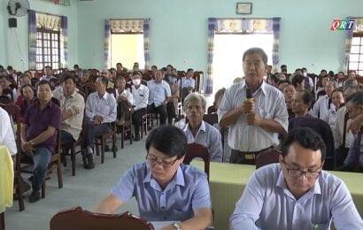 Đại biểu Quốc hội tiếp xúc cử tri Duy Xuyên