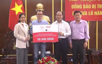 Doanh nghiệp trao 50 triệu đồng hỗ trợ đồng bào Quảng Nam