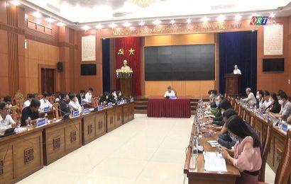 UBND tỉnh Họp bỏ phiếu huyện Duy Xuyên đạt chuẩn NTM
