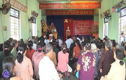 Ban Liên lạc kháng chiến xã Sơn Long gặp mặt truyền thống