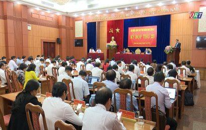 Khai mạc kỳ họp 23, HĐND tỉnh khóa IX