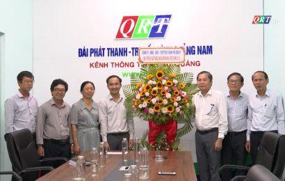 Lãnh đạo thành phố Tam Kỳ thăm và chúc mừng các cơ quan thông tấn báo chí nhân ngày Báo chí cách mạng Việt Nam