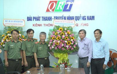 Các cơ quan, doanh nghiệp của tỉnh thăm và chúc mừng Đài PT – TH Quảng Nam nhân kỷ niệm 96 năm ngày Báo chí Cách Mạng Việt Nam