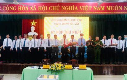 HĐND thành phố Hội An tổ chức kỳ họp lần thứ I, bầu các chức danh chủ chốt của HĐND, UBND