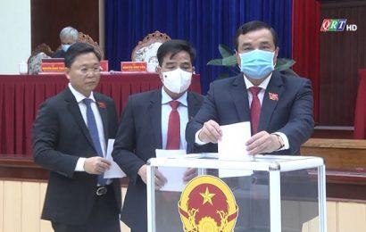 Kỳ họp thứ nhất, Hội đồng nhân dân tỉnh khoá X, nhiệm kỳ 2021-2026