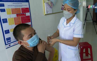 Tiên Phước tiêm vaccine phòng Covid-19 cho chức sắc tôn giáo