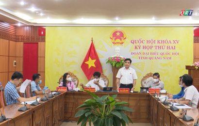 Đại biểu Quốc hội tỉnh Quảng Nam thảo luận về tình hình thực hiện chính sách bảo hiểm xã hội