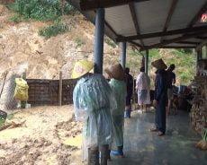 Mưa lớn gây sạt lở tại huyện Bắc Trà My
