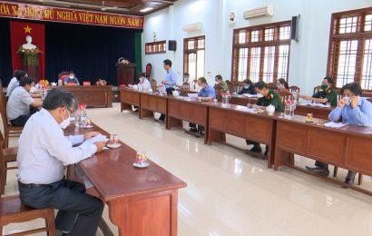 Kết luận của Phó Chủ tịch UBND tỉnh Trần Văn Tân tại buổi làm việc với huyện Phước Sơn về công tác phòng, chống dịch COVID-19